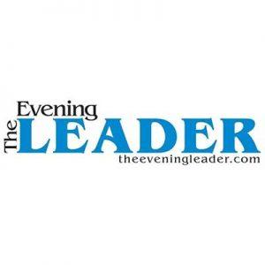 The Evening Leader logo